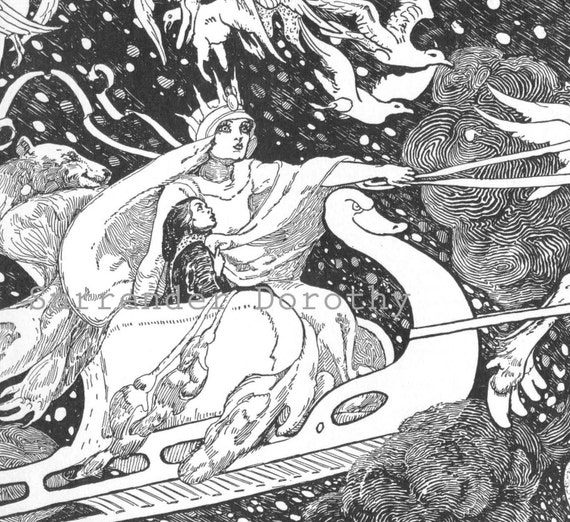 Snow Queen Illustrations Snow Queen Albertine Randall