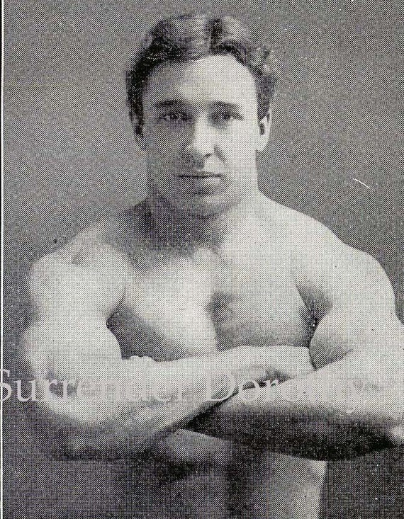 Male Bodybuilders 1908 Edwardian Vintage Fitness Rotogravure Those Two Hottie Boys Next Door