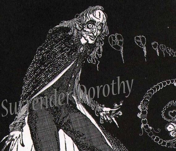 Telltale Heart Harry Clarke 1933 Edgar Allan Poe Original Vintage Illustration To Frame