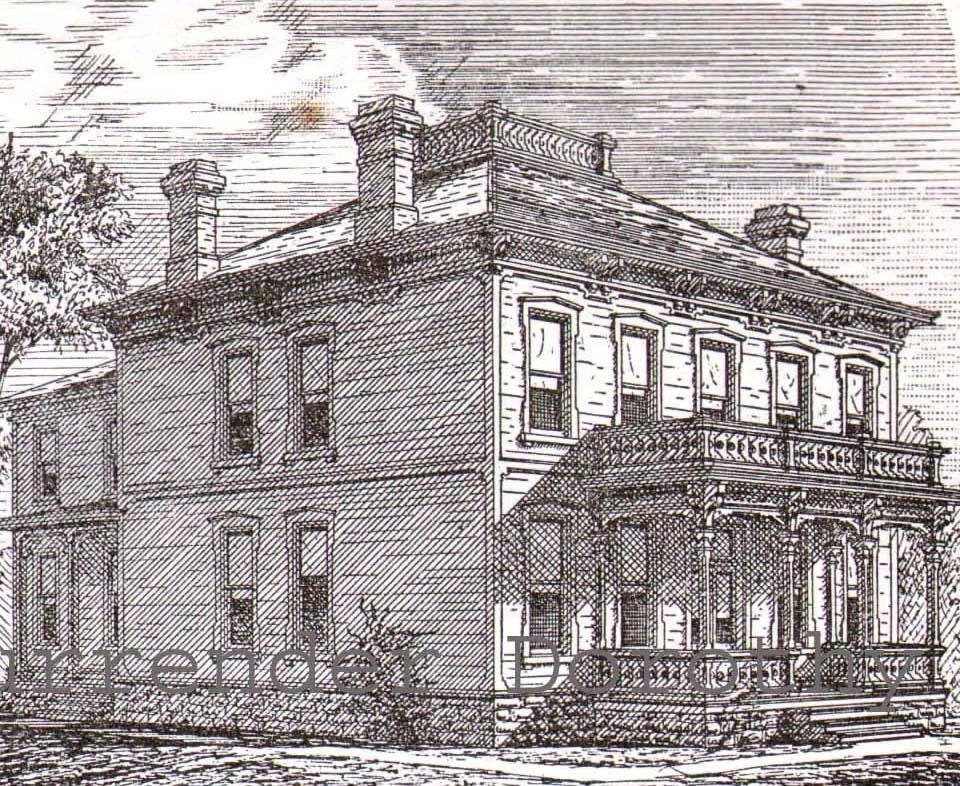 Mansard Federal Style House Plans Widow 39 S Walk Antique