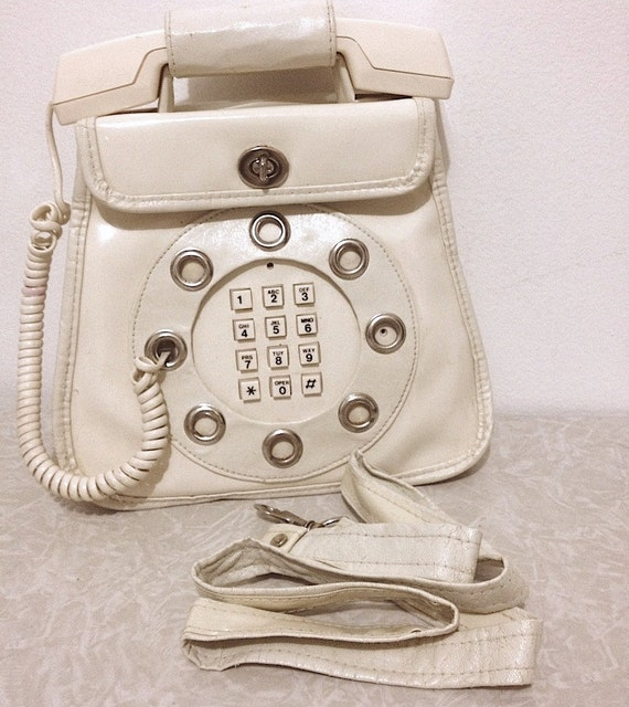 Working Telephone Purse by Dallas Handbags