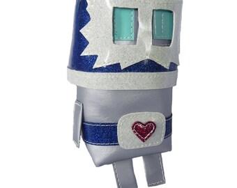 Luchador Robot Pouch