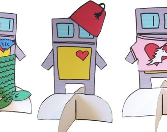 Paper Doll Robot