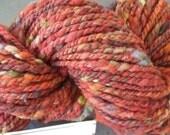 LAST CHANCE SALE misshawklet yarn brick slubby