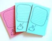 Dreaming Bunny Mini Notepad