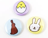 Happy Easter One Inch Button Set