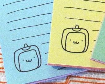 Tofu Baby To Do Wist Mini Notepad