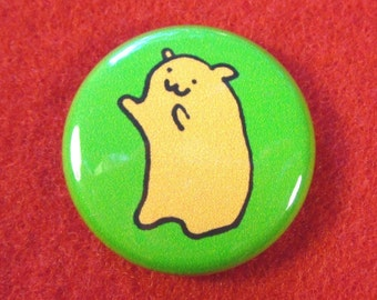 Huggable Hamster One Inch Button
