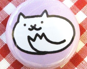 Itty Bitty Kitty One Inch Button
