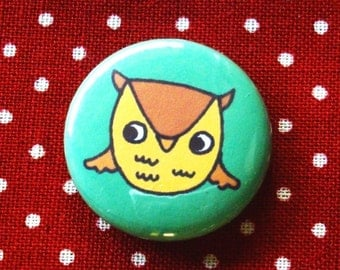 Little Owlie One Inch Button