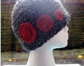 elipses hat (in persimmon)