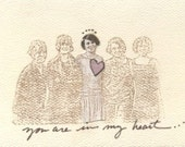 You Are in My Heart Card