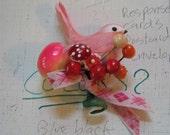 candyshop bird corsage-gumdrops