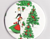 Vintage Christmas Magnets - Stocking Stuffer