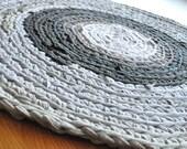 T Shirt Rug - Shades of Gray
