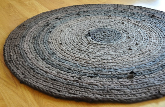 T Shirt Rug - Woodland Tree Stump