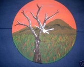 Hand Painted Clocks on 12 inch Vinyl Records