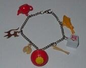takeout charm bracelet