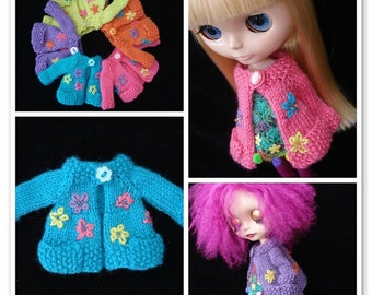 pdf pattern - Blythe pocket cardigan