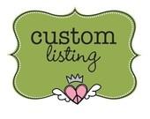 Custom Listing for Brittanie Meinzer