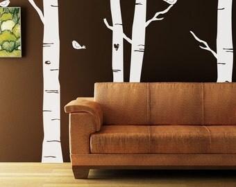 Forest Kit Vinyl Decal Size LARGE  - Home Decor, Office Decor, Bedroom Decor, Artistic Decor, Artsy Decor, Summer Decor, Woodland Decor,