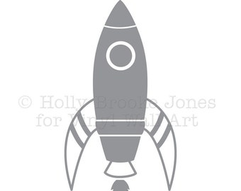 Space Ship Vinyl Decal X-LARGE