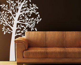 Shadow Tree Vinyl Wall Decal
