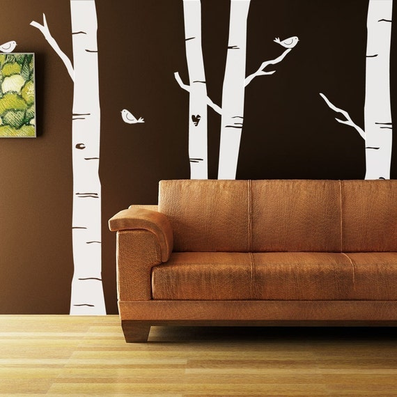 Make your own 8 foot forest vinyl mural decal kit for Create your own mural
