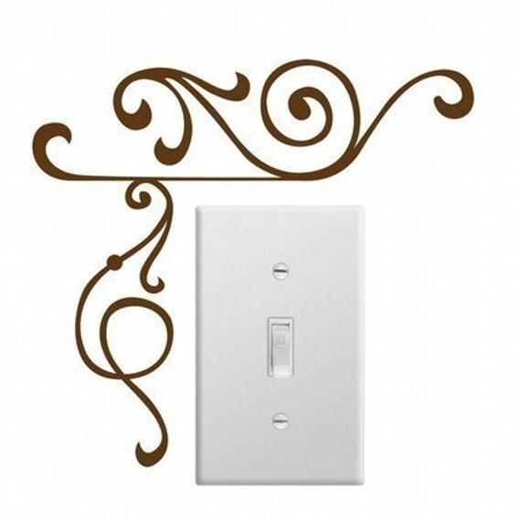 Elegant Corner Wall Decals (Set of 2) LARGE, Home Decor, Office Decor, Elegant Design, Professional Decal,