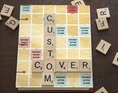 Custom Scrabble Journal