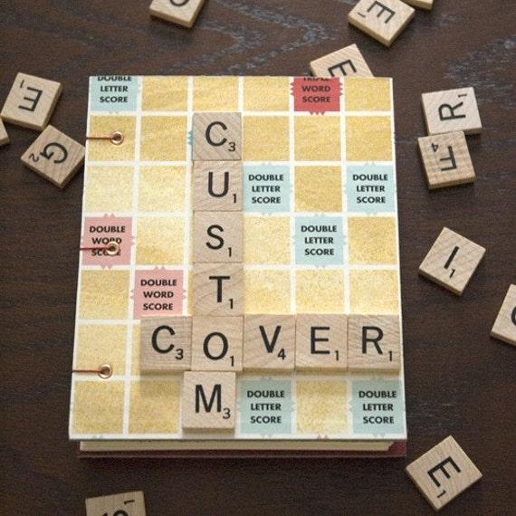 Custom Scrabble Journal