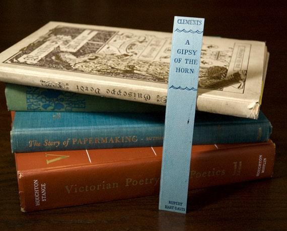 Book Spine Bookmark