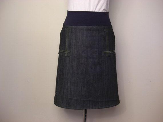 Denim Architect Skirt