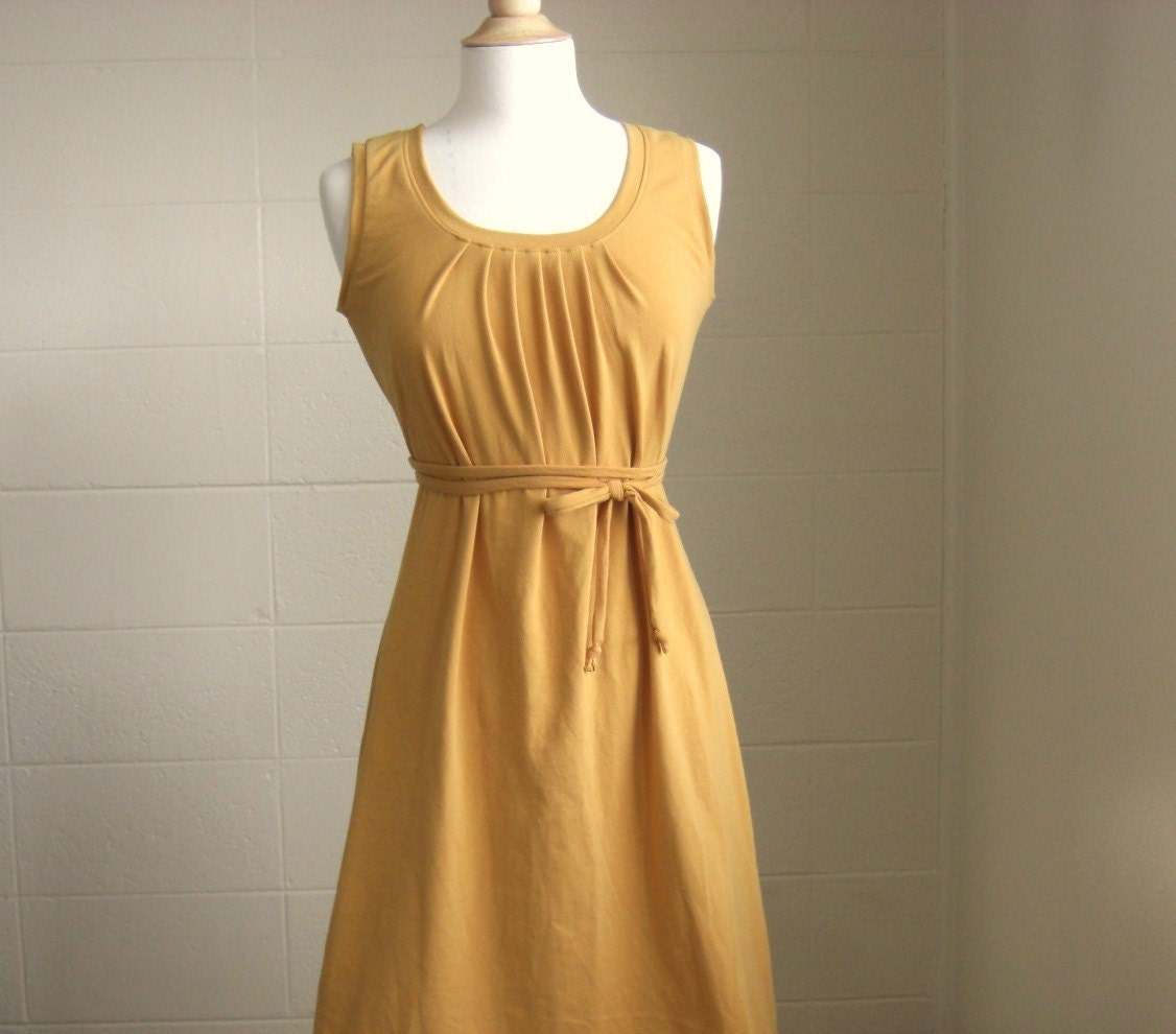 Womens Tank Dress Made to order in your size and Color