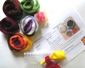 Wet Felting Vessel Kit- D.I.Y. A Handmade Felt Vessel