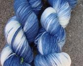 Bootsie Sock Yarn - Indigo Wash