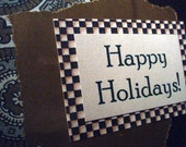 Happy Holidays - Blank Greeting Card