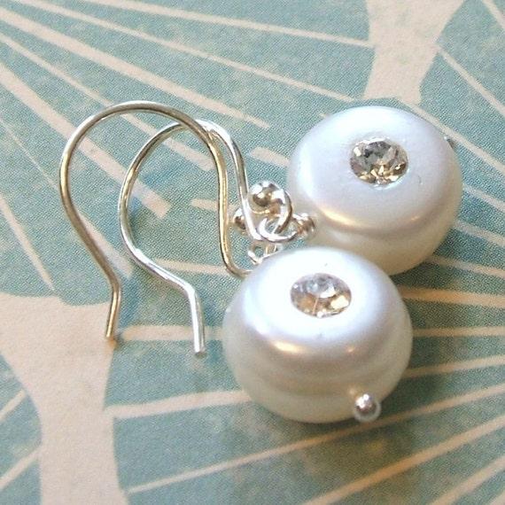 Sparkle. Dainty Earrings