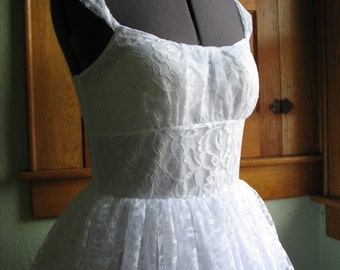 Lace Tea Party Dress