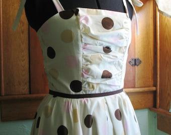 Sample SALE Polka Dot Sun Dress