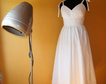 Cotton Eyelet Sundress with Ties