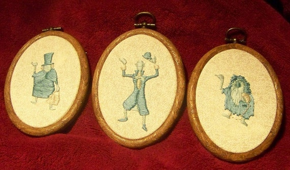Haunted Mansion Hitchhiking Ghosts CUSTOM embroidery