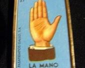 The Hand, La Mano Lottery Pendant