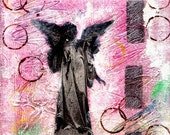 Angel - Original Mixed Media Painting