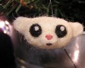 Small bear\/monkey head ornament
