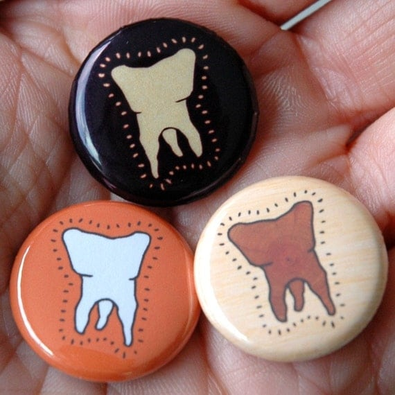 toofs button set by becky johnson