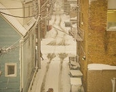 Chicago Alley in Winter - 8x10 photograph print by Katie Scully