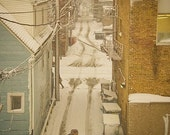 Chicago Alley in Winter - 8x10 print by Katie Scully