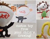 Custom Toy from Your Child's Drawing