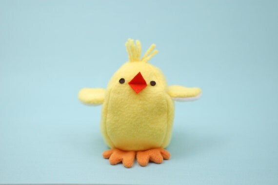Chick & Egg Reversible Softie - PDF Sewing Pattern